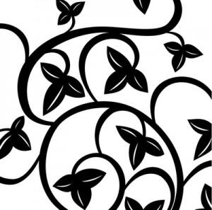P Leaf Swirls_resize
