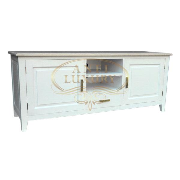 White Classic TV Cabinet