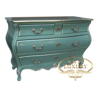 Toulouse Turqouse 4 Drawers Commode