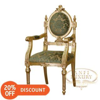 nantes queen arm chair