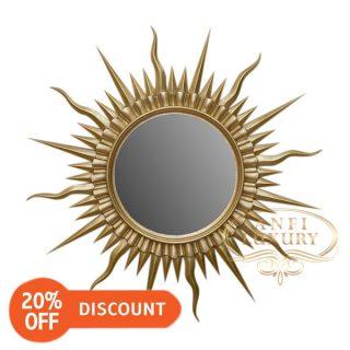 nantes sun wall mirror