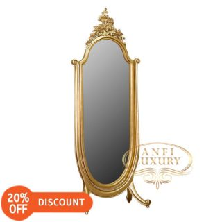 nantes carved standing mirror