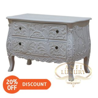nantes heavy carved chest