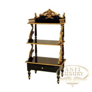 black gold corner rack