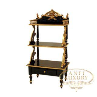 black gold corner rack