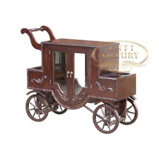 keraton tea table with wheels