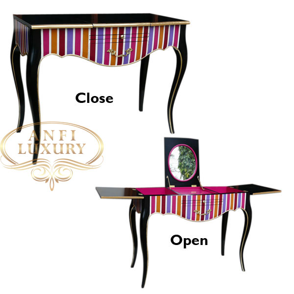open close casillas dressing table