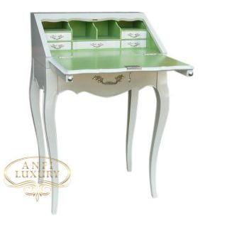 lady melissa slim desk green