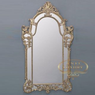 rossa gold high carved mirror