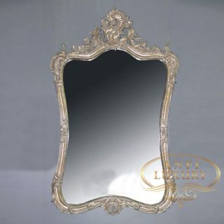 yanet garcia gold carved mirror