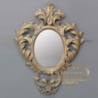 ahed tamimi gold carved mirror