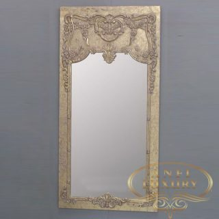 alexa key classic gold mirror
