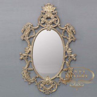 cumicumi classic gold leaf mirror