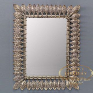 baby gianni classic gold mirror