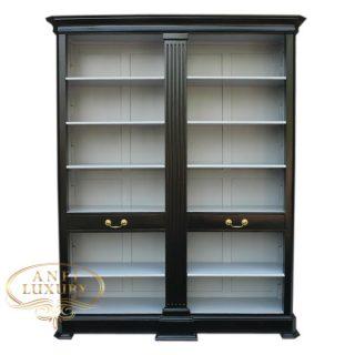 grand estonia open bookcase bw