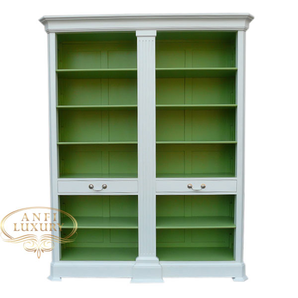 grand estonia open bookcase wg