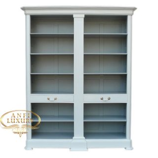 grand estonia open bookcase wgr
