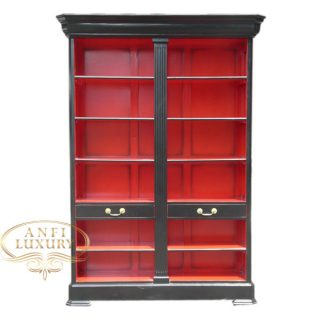 grand estonia open bookcase br