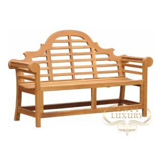 teak garden antika couple bench