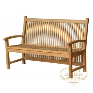tak garden long bottom bench