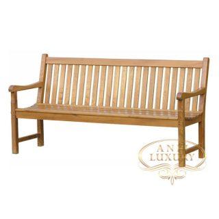 teak garden long seat bench