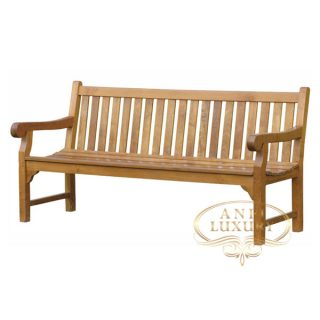 teak garden vania long bench