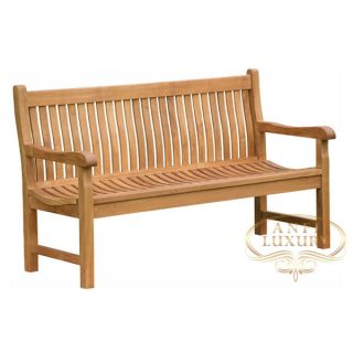 teak garden lala couple bench