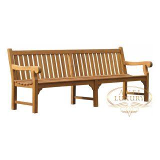 teak garden long audi bench