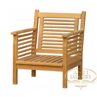teak garden rena arm chair