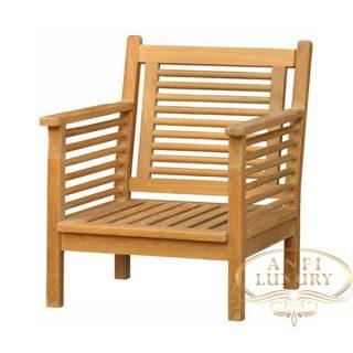 teak garden rena arm chair