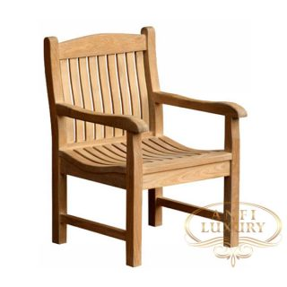 teak garden juna arm chair