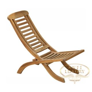 teak garden low lazy chair
