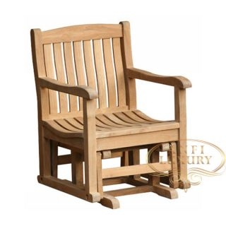 teak garden bee line chair