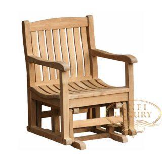 teak garden bee line chair