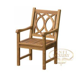 teak garden nuri arm chair
