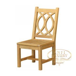 teak garden nuri low chair